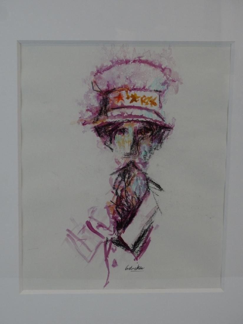 DAVID ADICKES - Two Sketches
