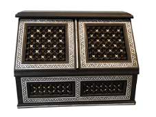 Mother of Pearl Inlaid Letter Box