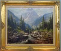 LASZLO NEOGRADY : Oil on Canvas Painting