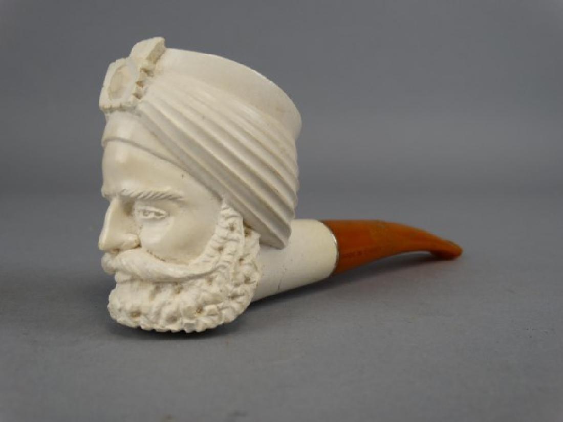 Meerschaum Pipe with Bakelite Handle