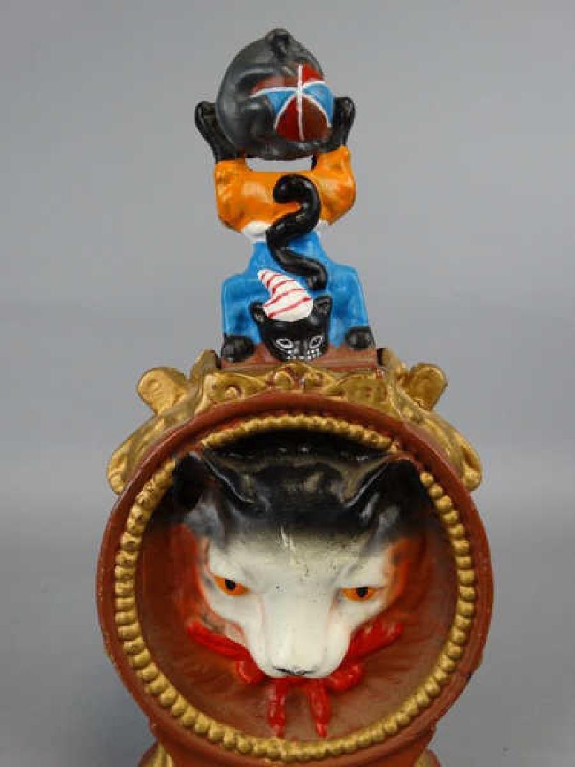 Cast Iron Cat & Mouse Bank - 3