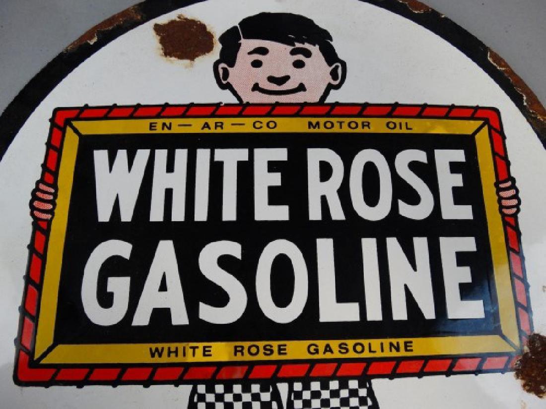 White Rose Gasoline SSP Sign - 3