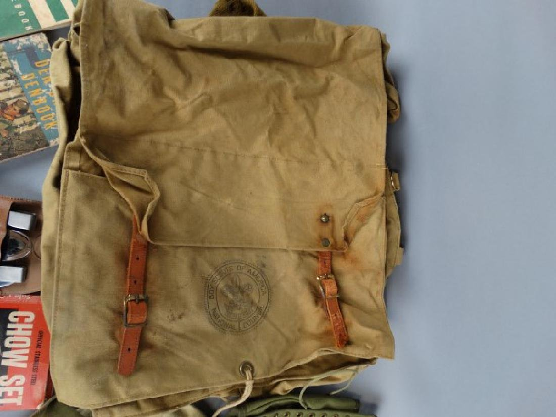 Large Group of Vintage Boy Scout Items - 4