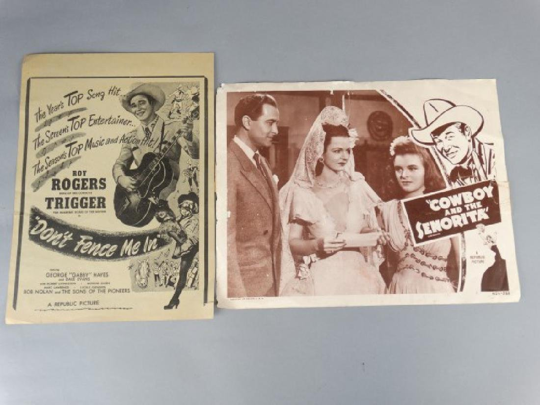 Lobby Cards- 2 Roy Rogers Movies