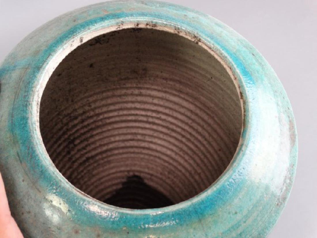 Large M. TINES Studio Pottery Vase - 6