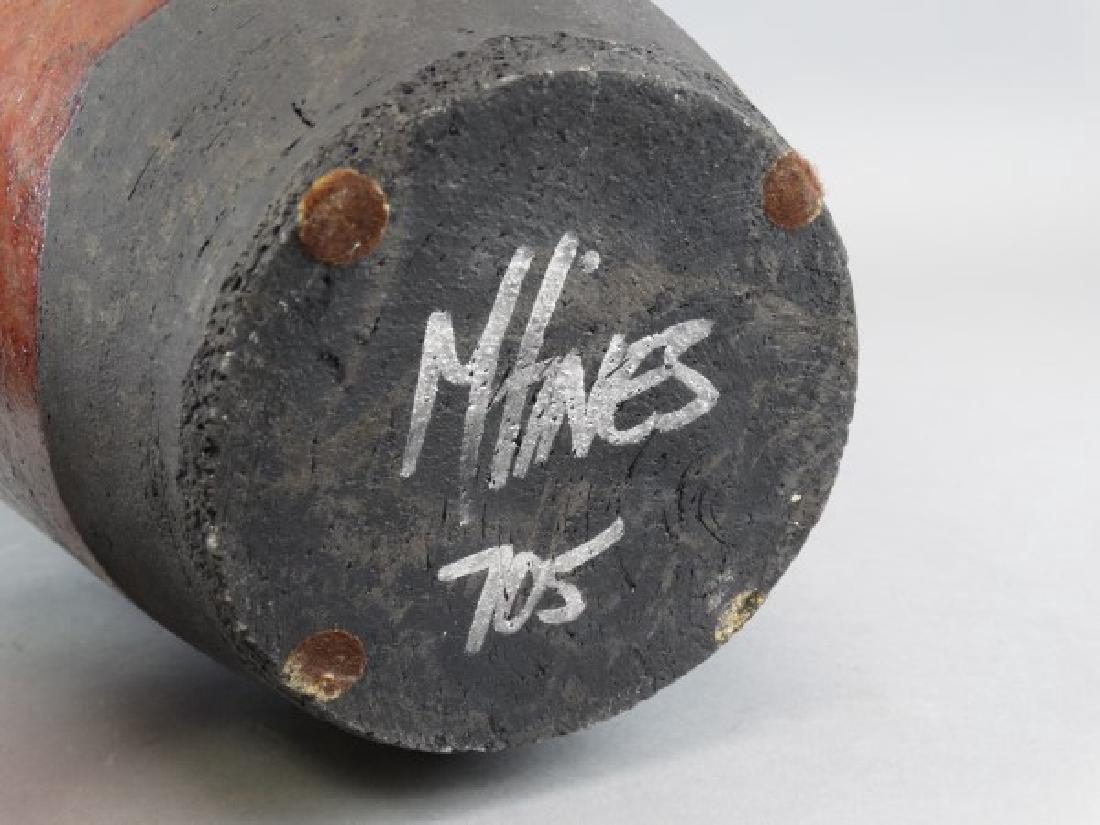 Large M. TINES Studio Pottery Vase - 7