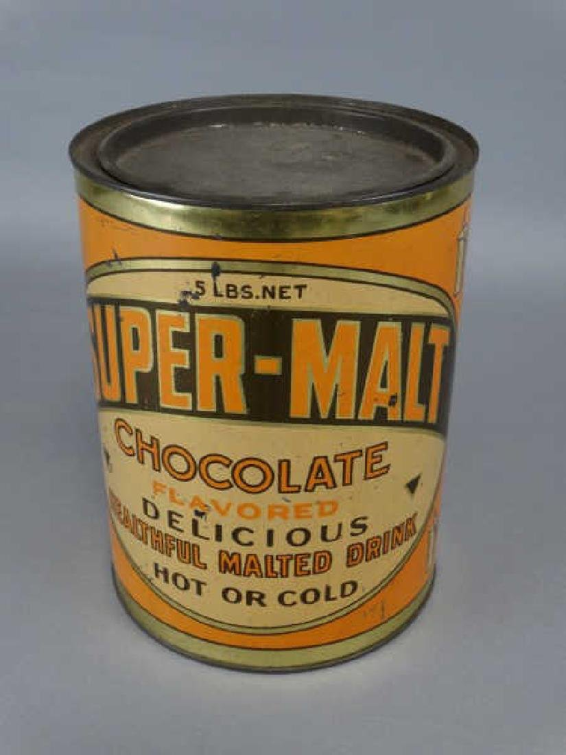 Super-Malt Chocolate Malted Drink Mix Tin - 2
