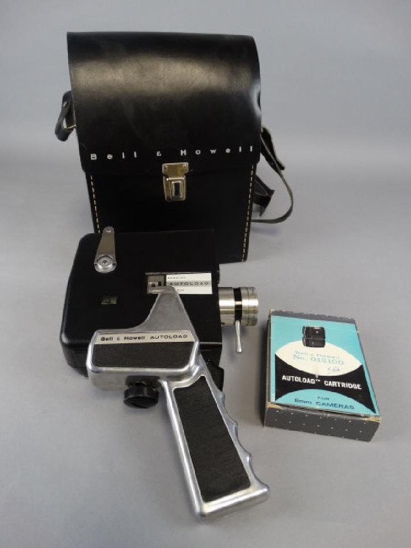 Bell & Howell Vintage 8mm Video Camera with Case