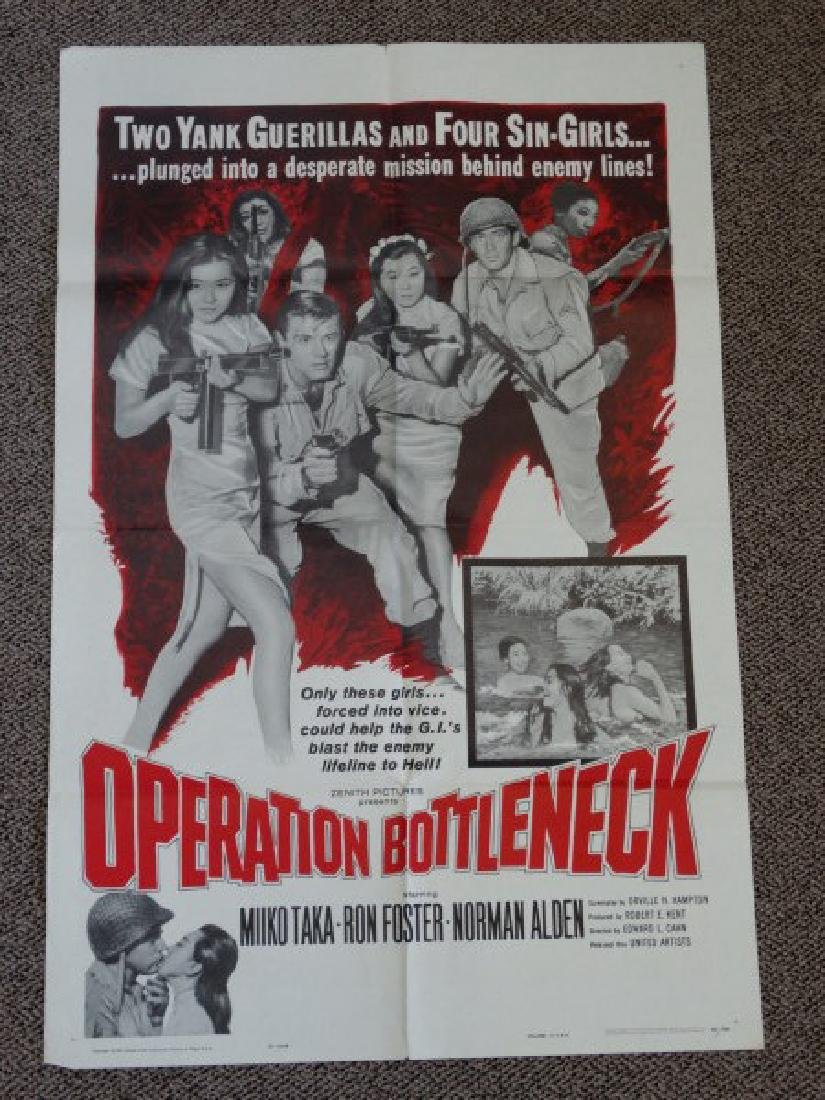 Movie Poster - Operation Bottleneck