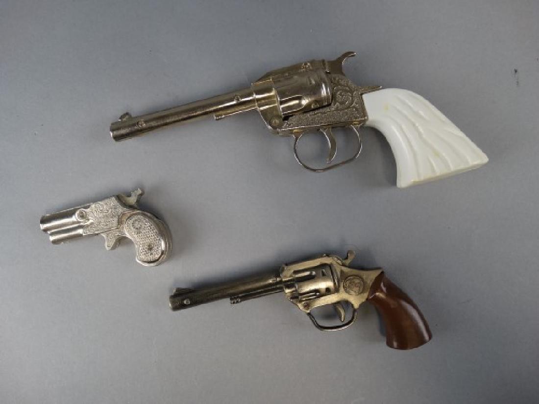 3 Vintage Cap Guns