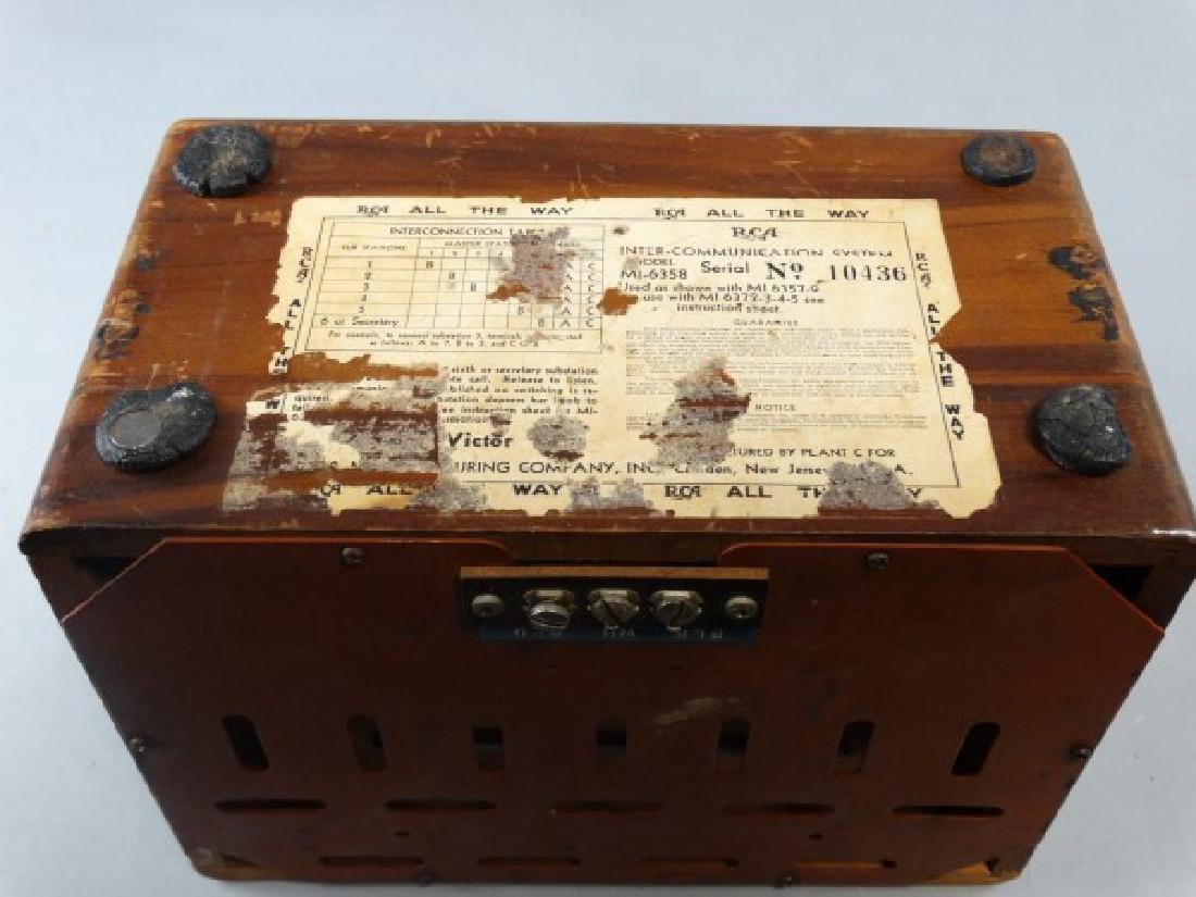 RCA Victor Vintage Intercom Box - 3