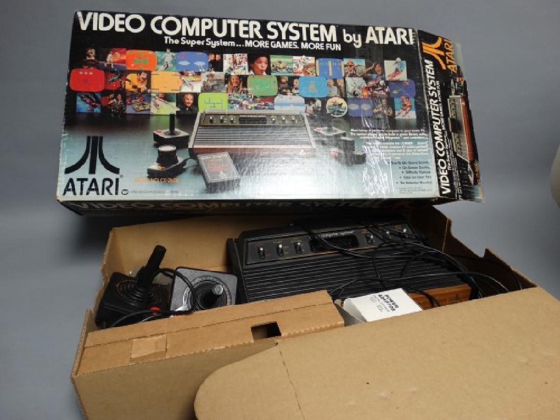 Atari 2600 System in Original Box
