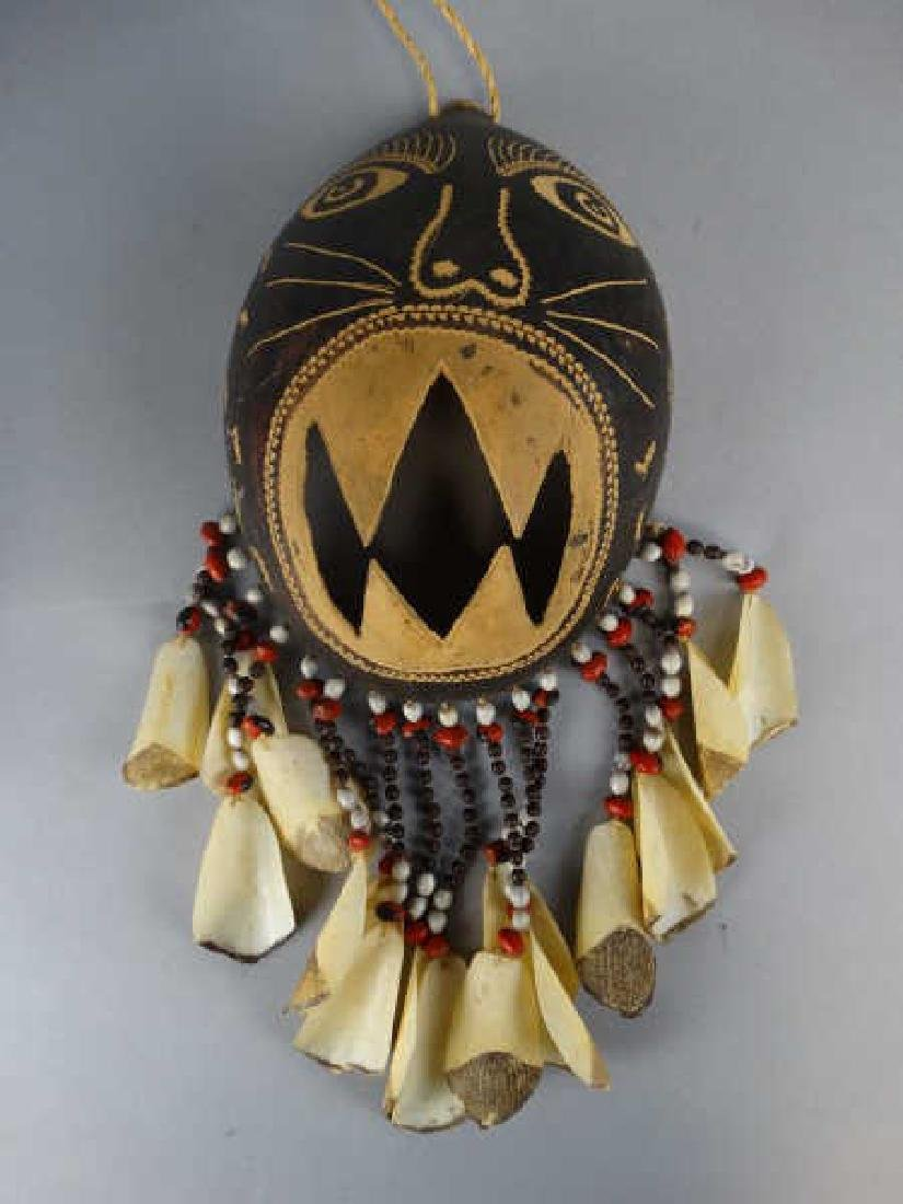 3 Gourd Masks from Ticuna People, Amazon Brazil - 2