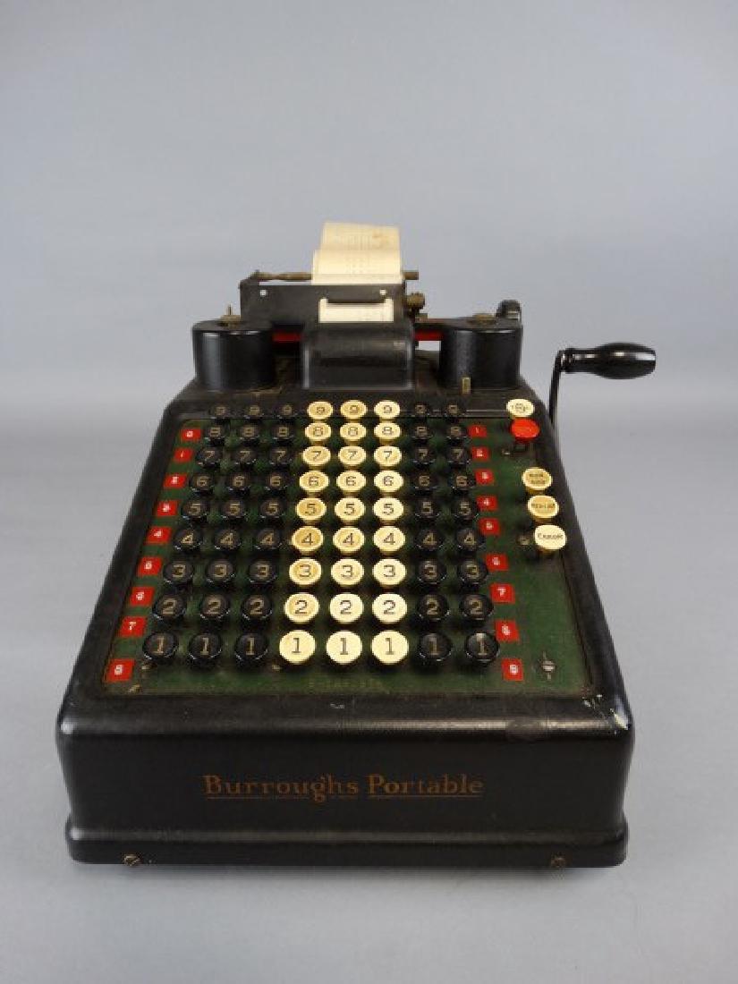 Burroughs Portable Adding Machine