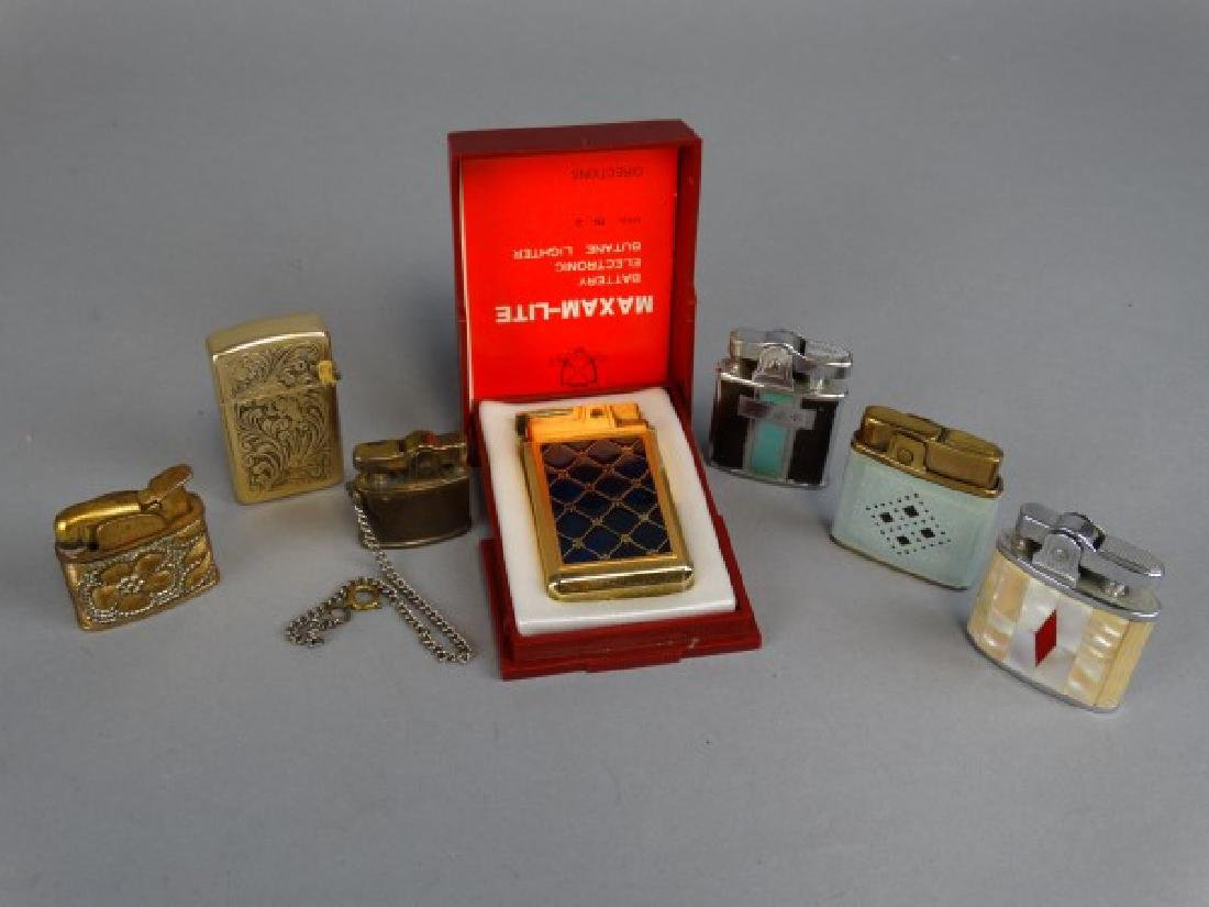 Lot of 7 Unique Lighters