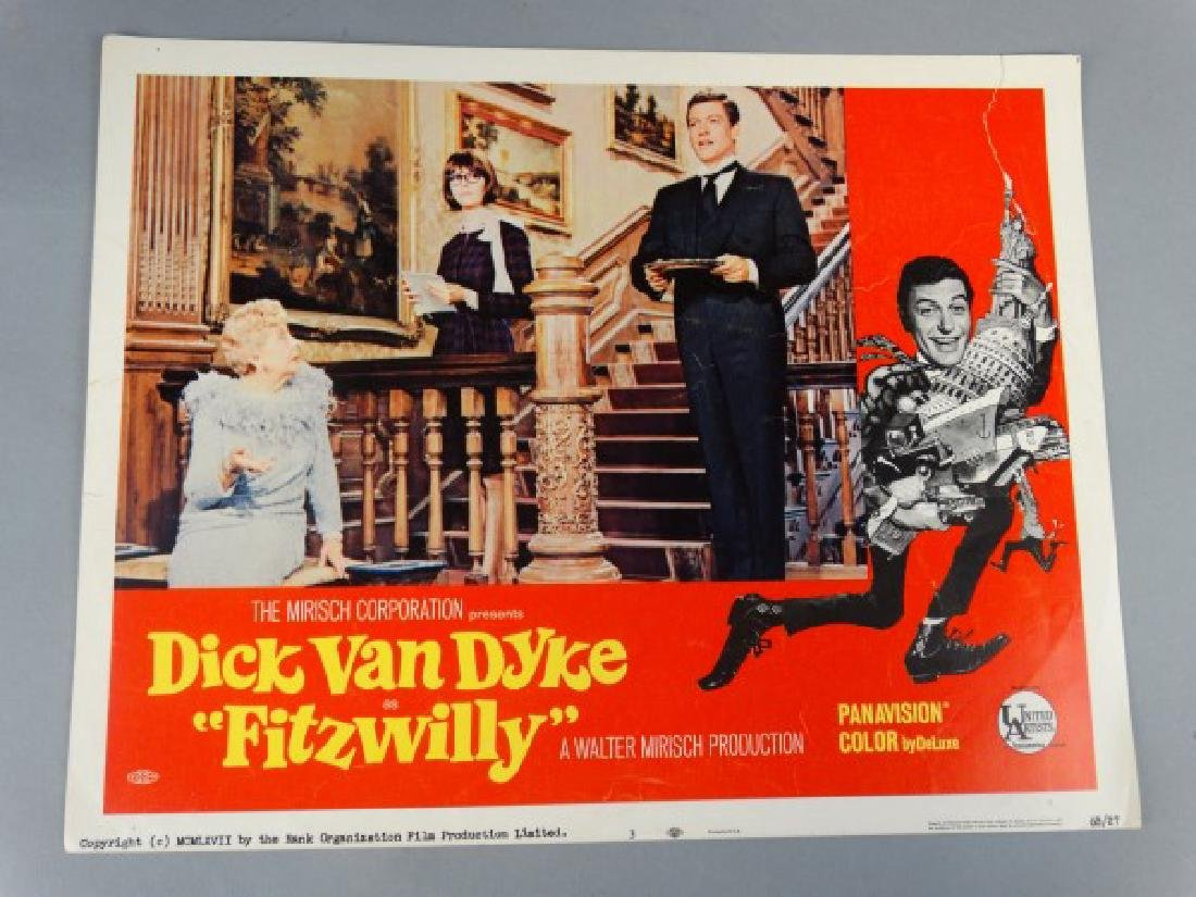 Lobby Card - Dick Van Dyke as Fitzwilly