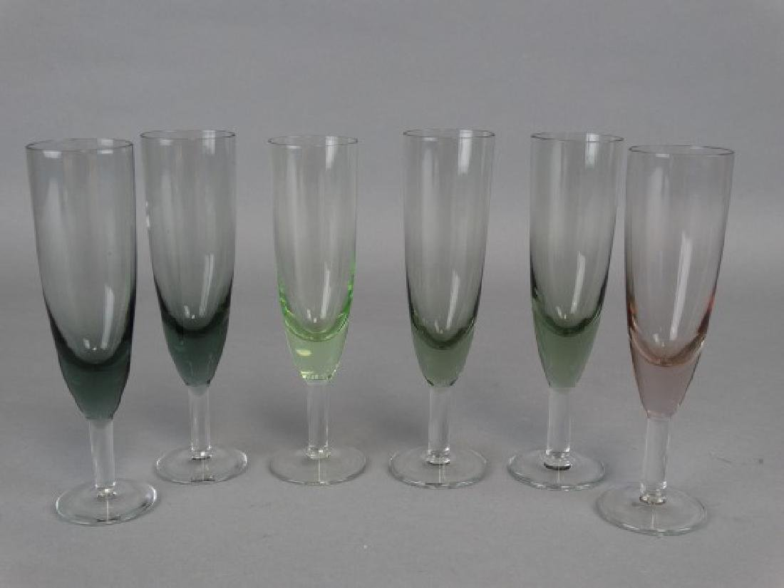 Lot of 6 Glass Cordials - 2