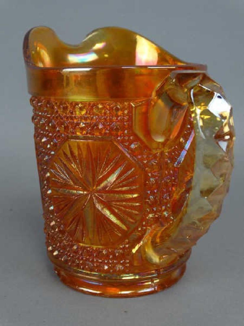 Carnival Glass Pitcher - 2