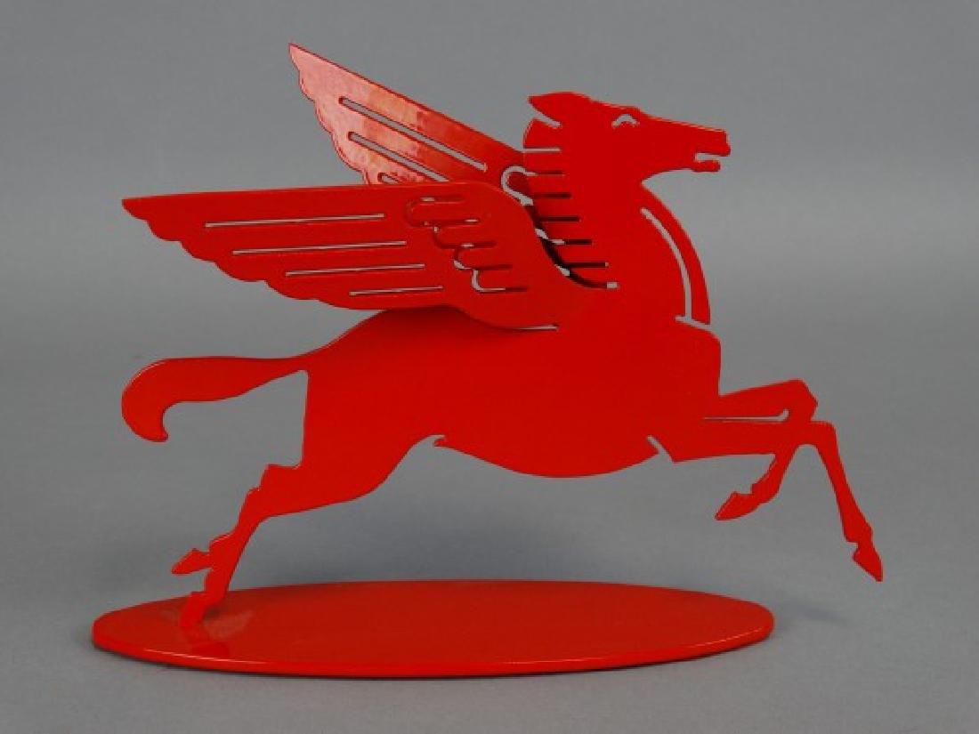 Metal Mobil Pegasus Sculpture