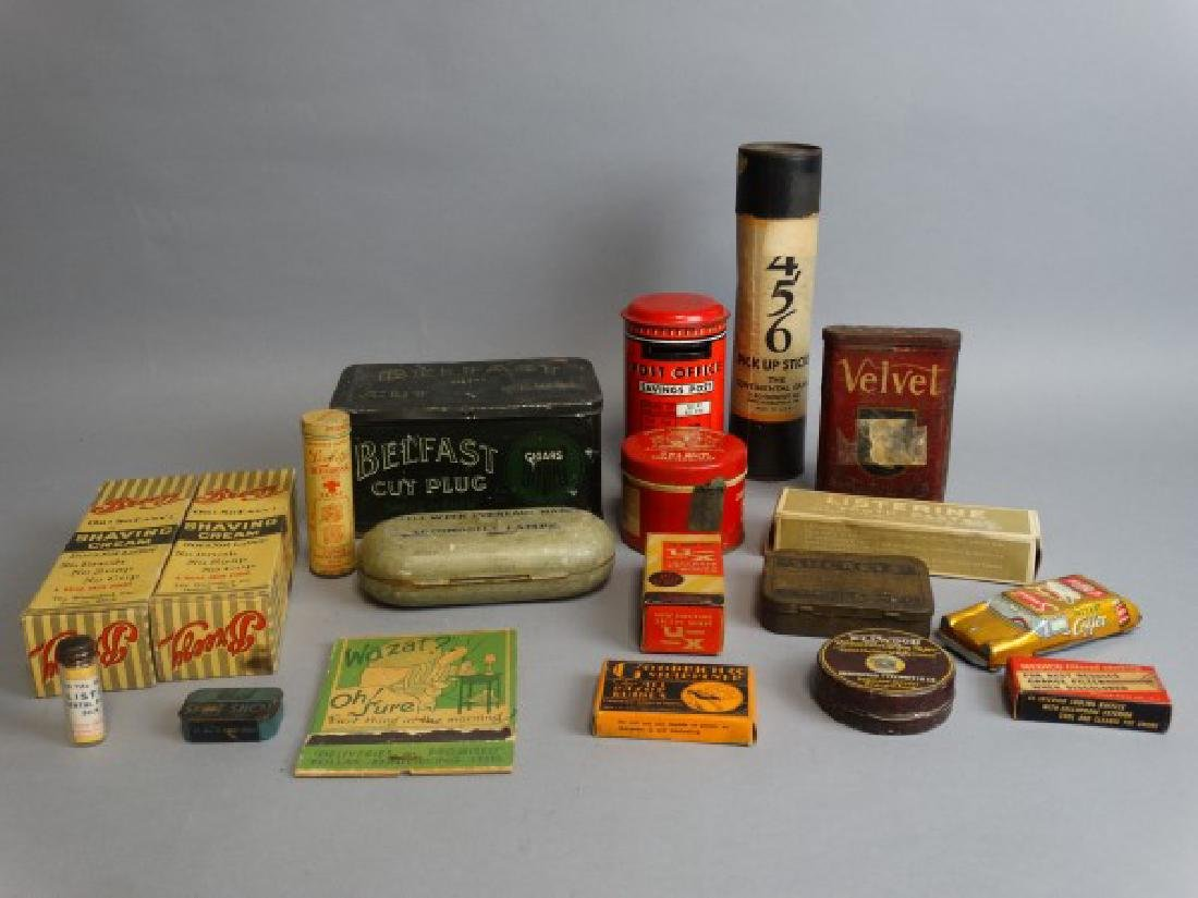 Vintage Tin & Box Lot
