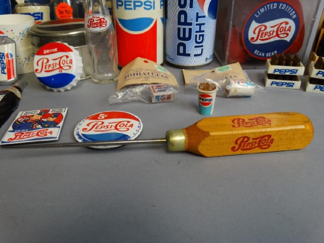 Large Lot of Vintage Pepsi Collectibles - 4