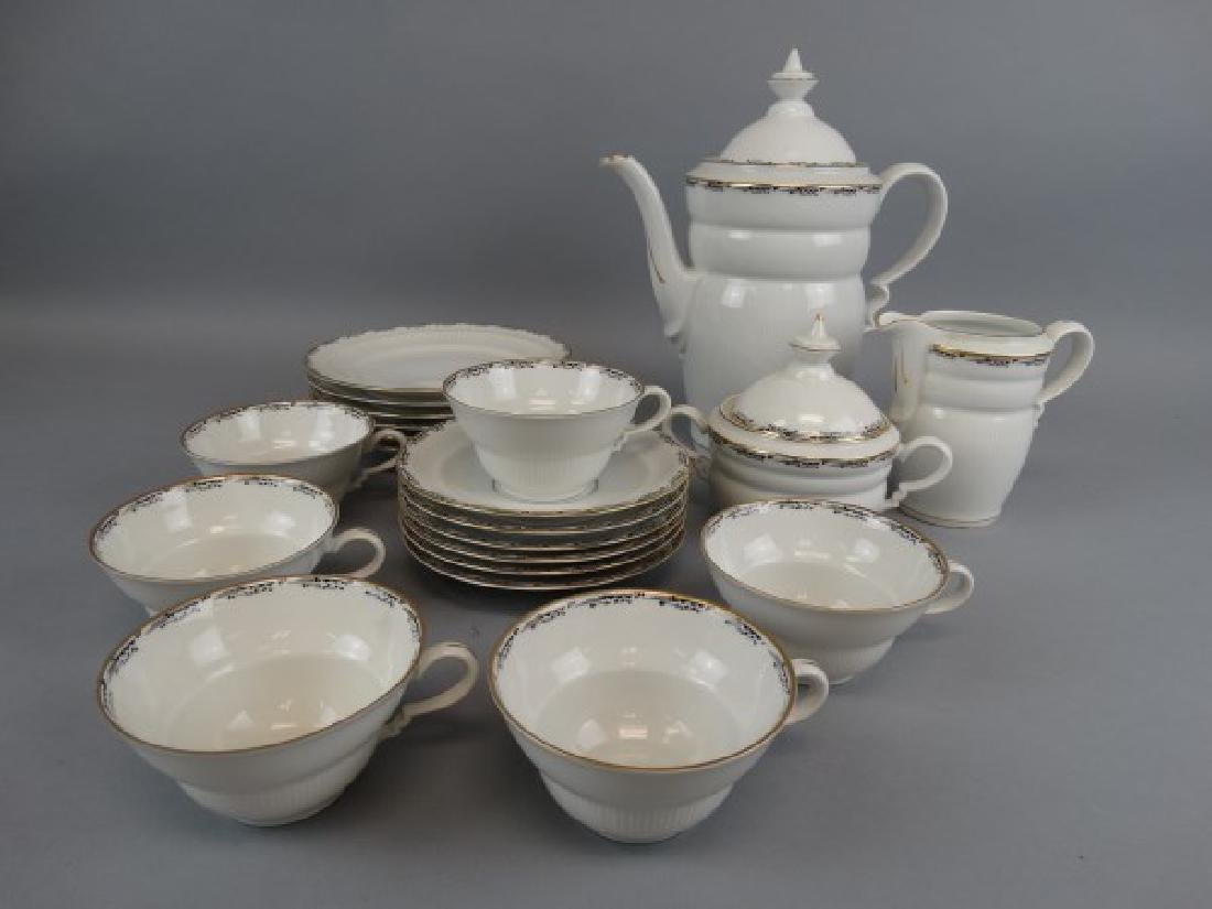 Vintage 21 Pc. Plankenhammer China Tea Set