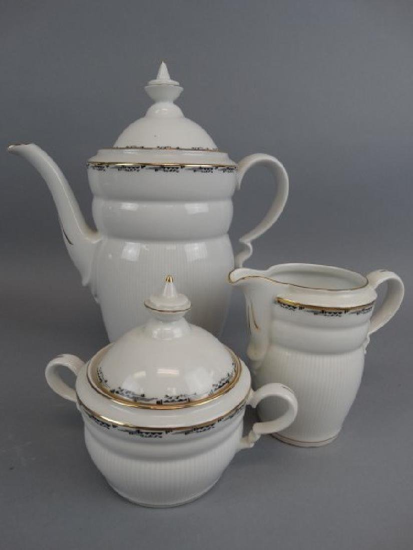 Vintage 21 Pc. Plankenhammer China Tea Set - 2