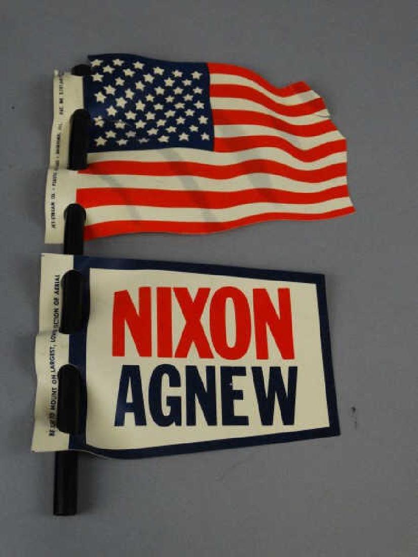 Original 1968 Nixon - Agnew Campaign Piece