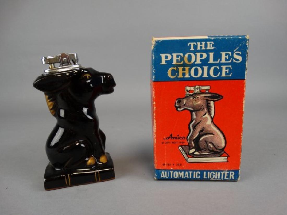 Amico Brand Porcelain Donkey Lighter