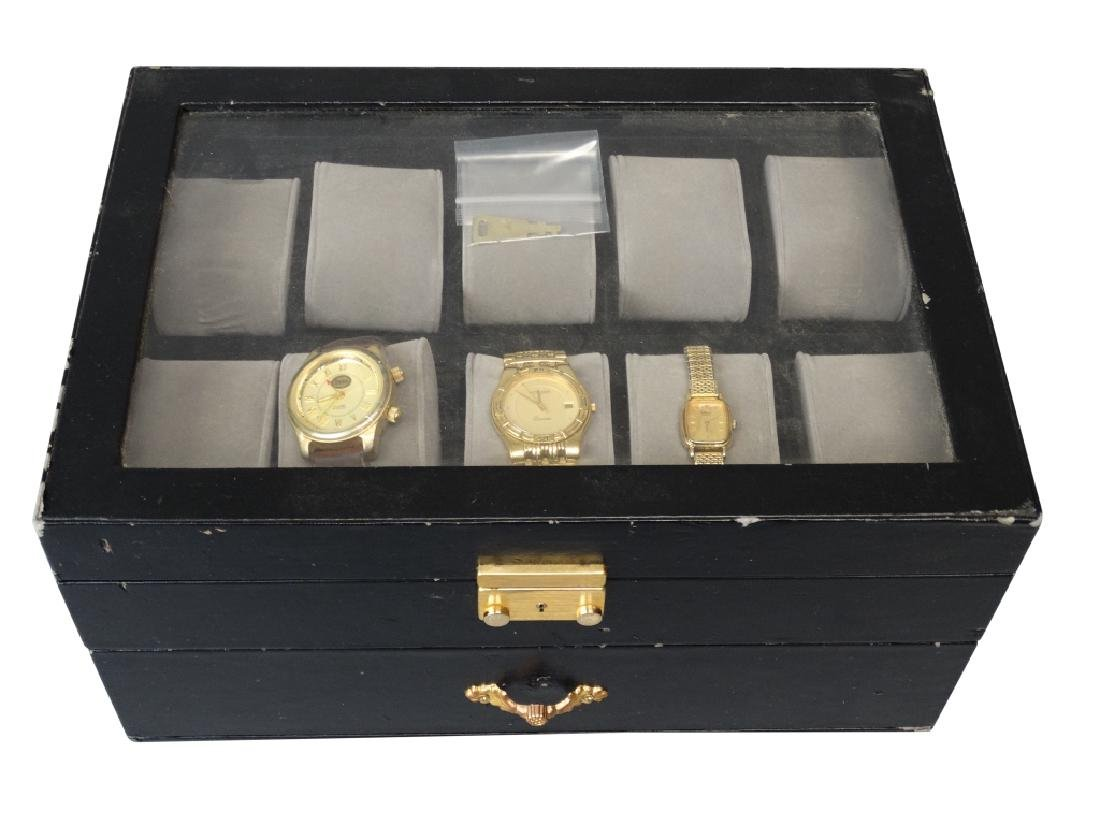 Watch Box with 3 Watches