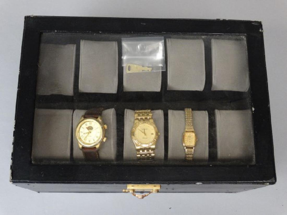 Watch Box with 3 Watches - 2