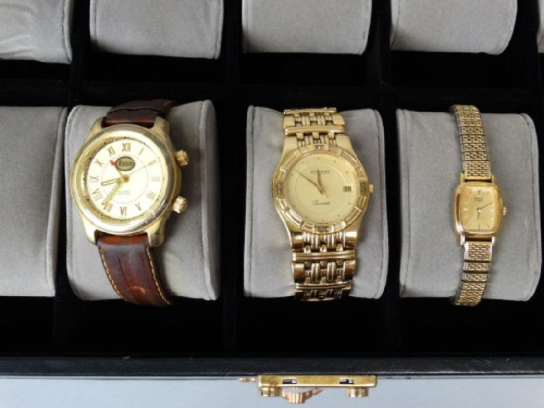 Watch Box with 3 Watches - 3
