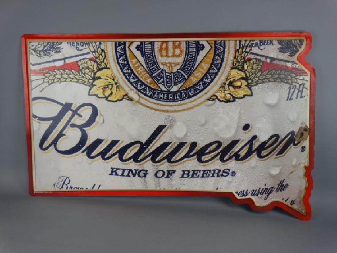 Budweiser Metal Sign - 2