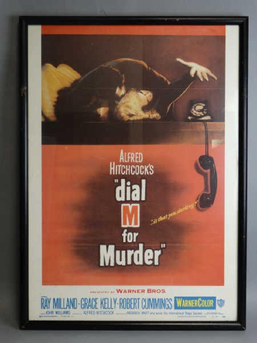 "Alfred Hitchcock ""Dial M for Murder"" Print"
