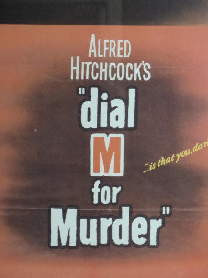 "Alfred Hitchcock ""Dial M for Murder"" Print - 2"
