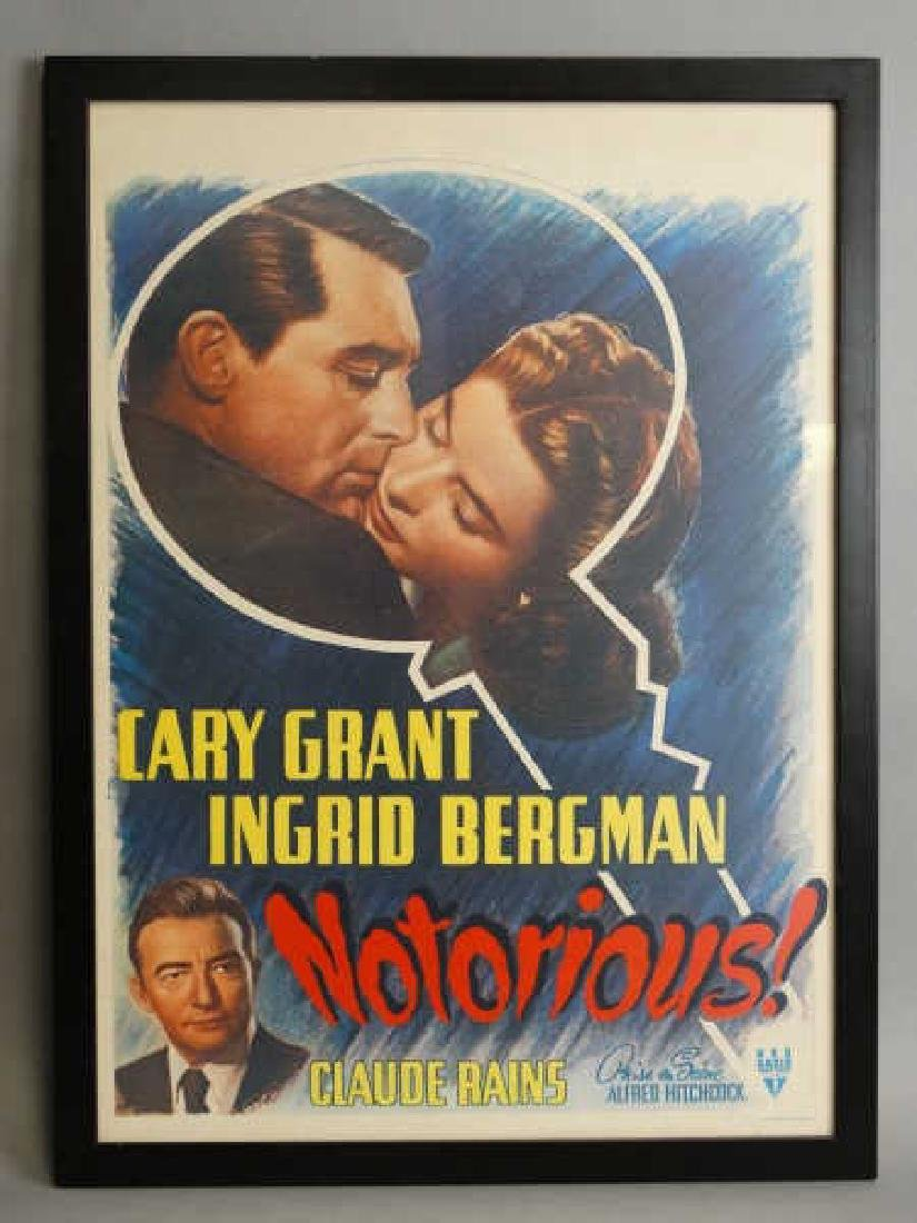 Notorious! - Carey Grant - Movie Poster Print