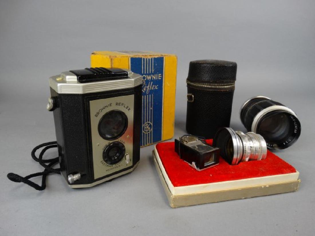 Group of Vintage Camera Equipment