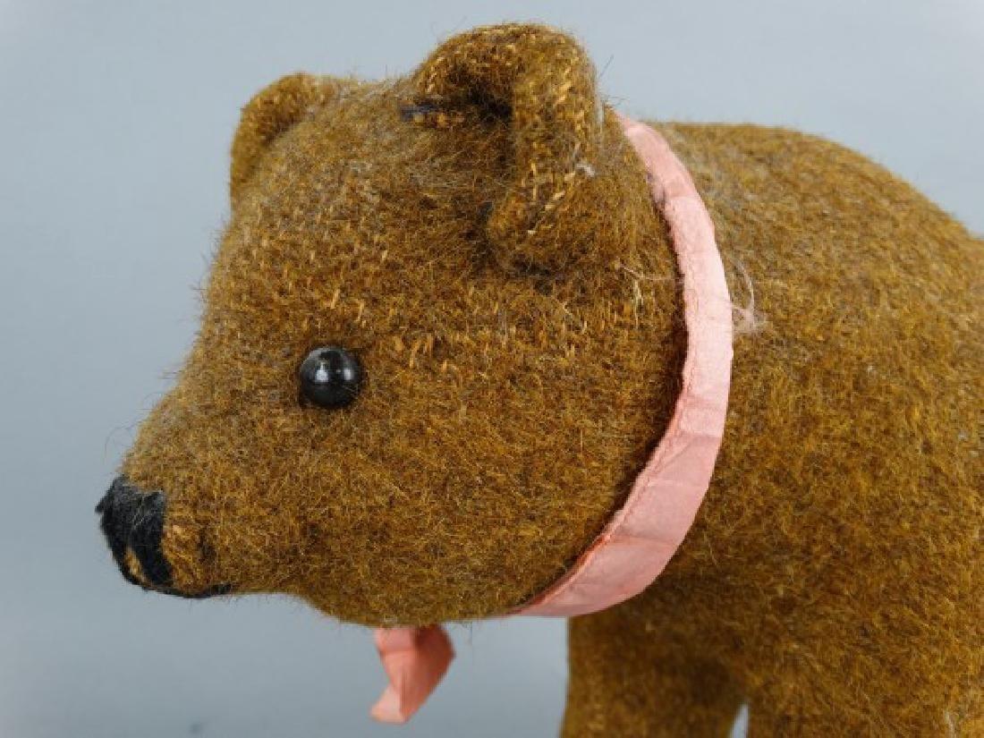 Steiff Brown Bear on Wheels - 3