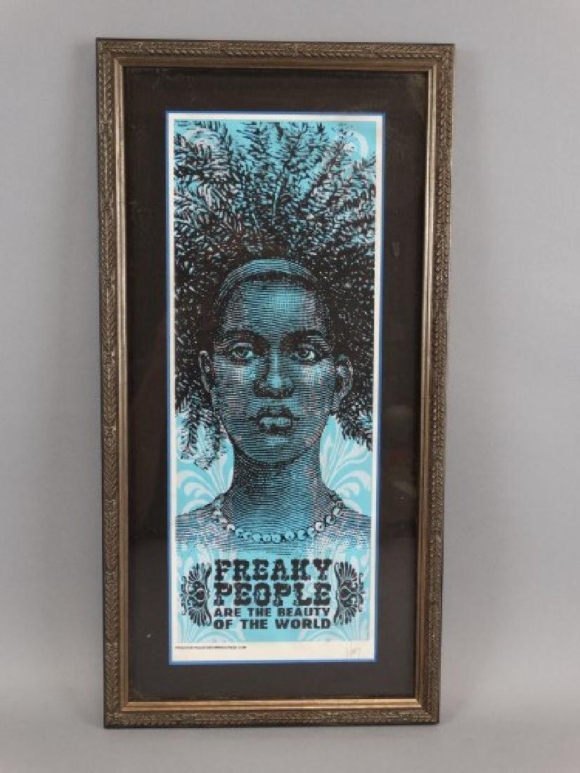 JEFF WOOD - Freaky People Signed Print