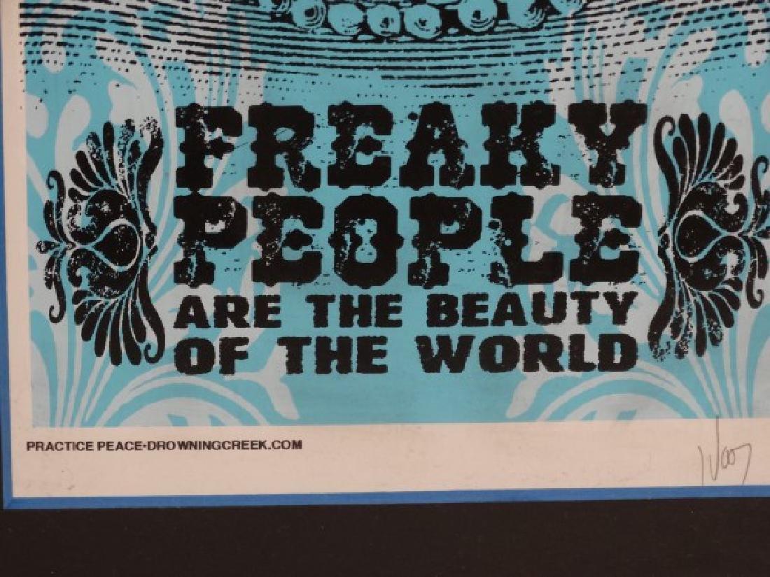 JEFF WOOD - Freaky People Signed Print - 4