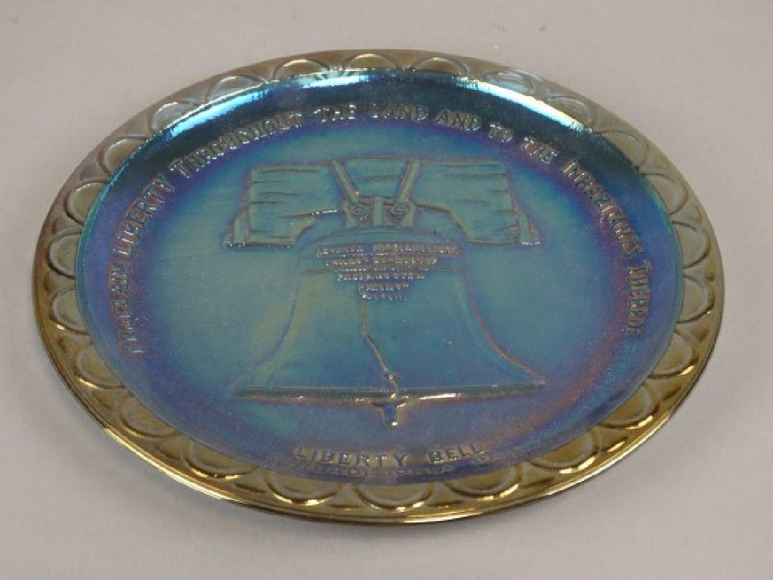 Carnival Glass Liberty Bell Plate