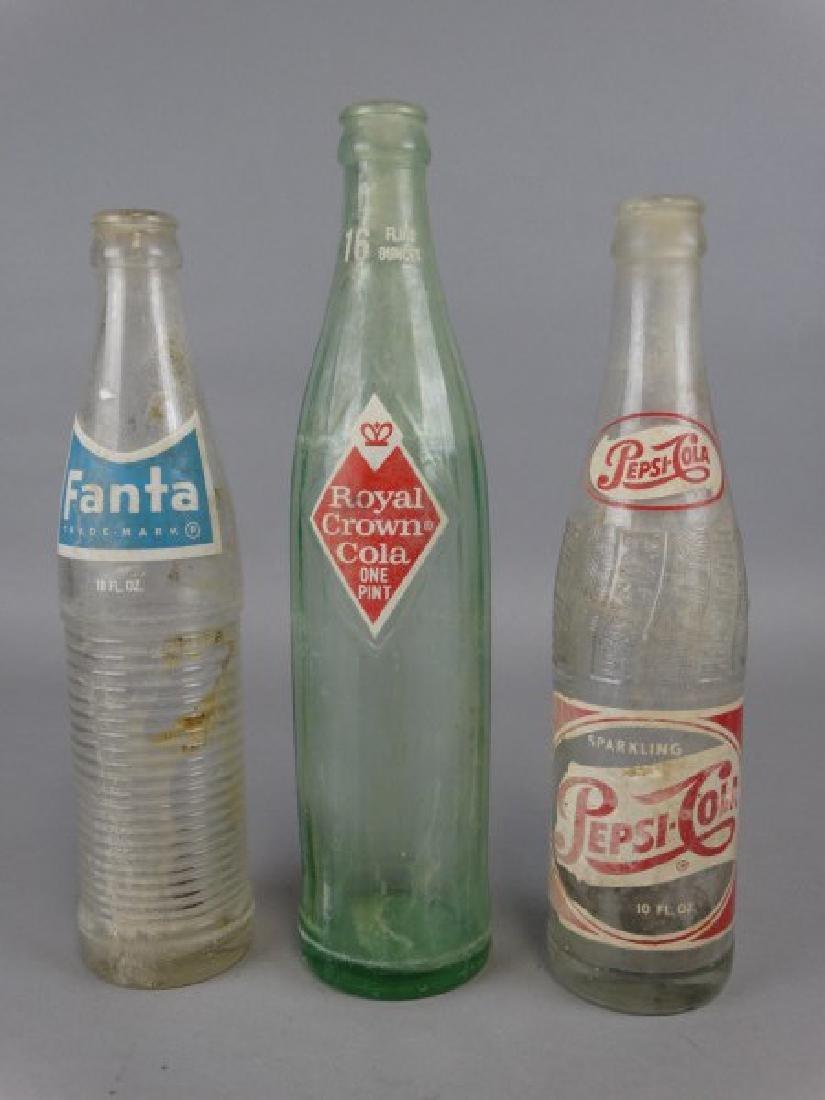 Lot of 3 Vintage Pop Bottles - 2