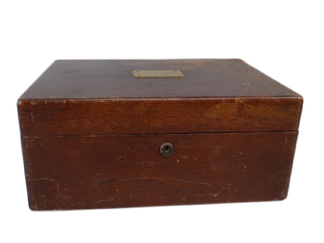 Antique Humidor Box