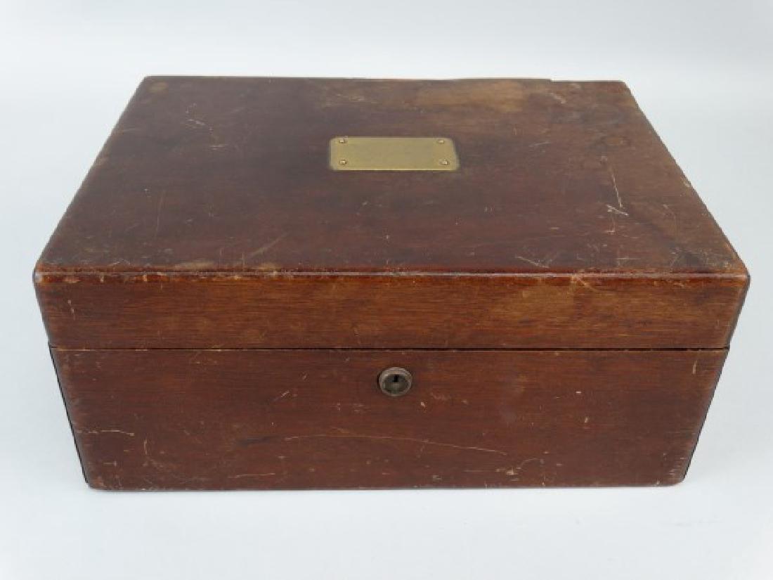 Antique Humidor Box - 2