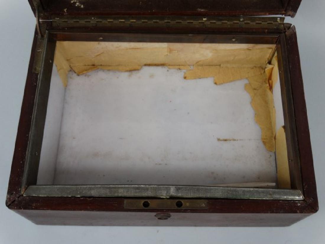 Antique Humidor Box - 5
