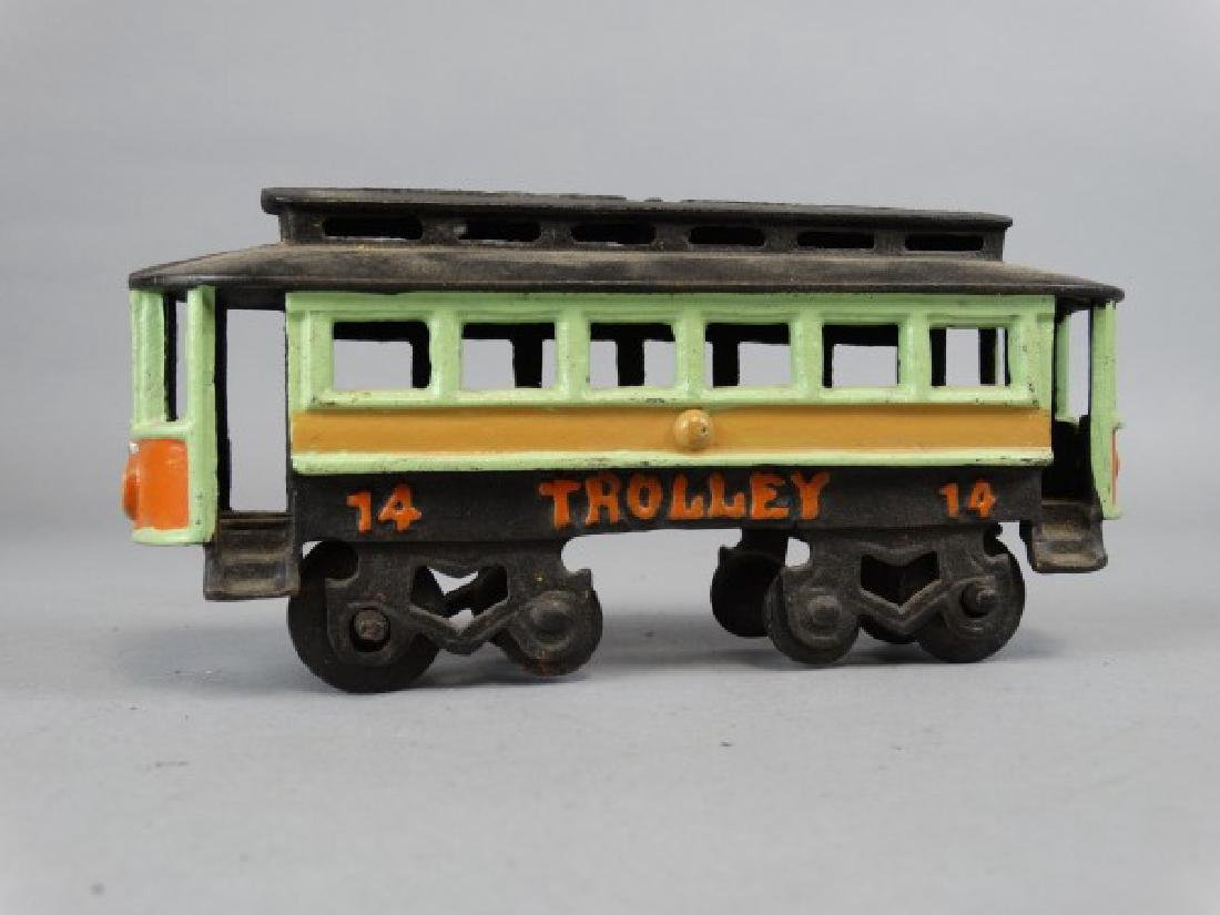 Cast Iron Trolley - 2