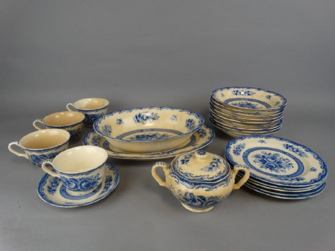 23 pcs. Maruta China - Chatham Pattern