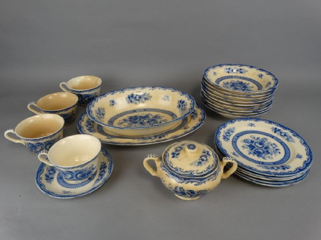 23 pcs. Maruta China - Chatham Pattern - 2