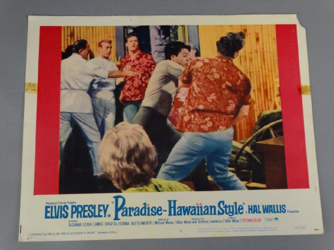 Lobby Card - Paradise Hawaiian Style - Elvis