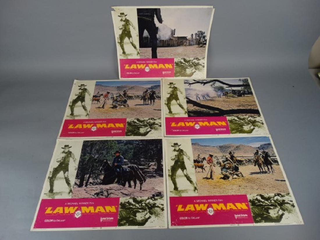 Lobby Cards - Law Man